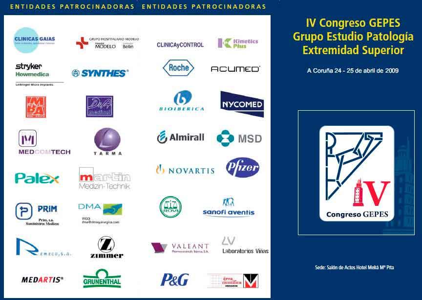 Dr. de Casas participa en IV Congreso Gepes en La Coruña