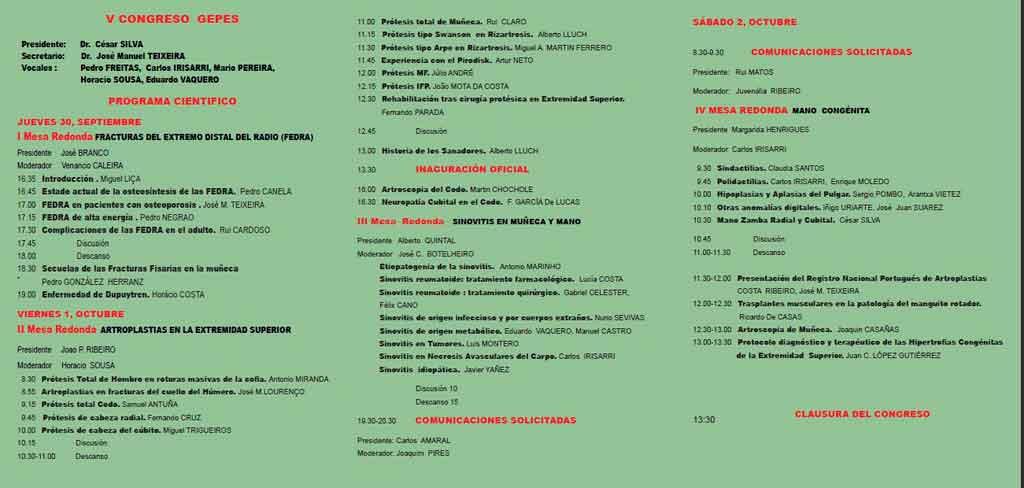 V Congreso Internacional GEPES celebrado en Madeira