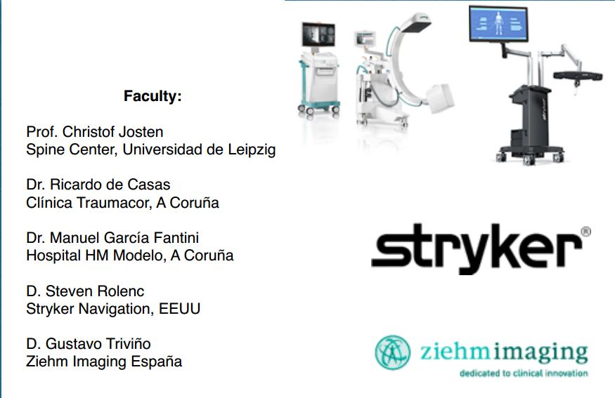 simposio internacional de cirugía vertebral con navegacion intraoperatoria en 3D
