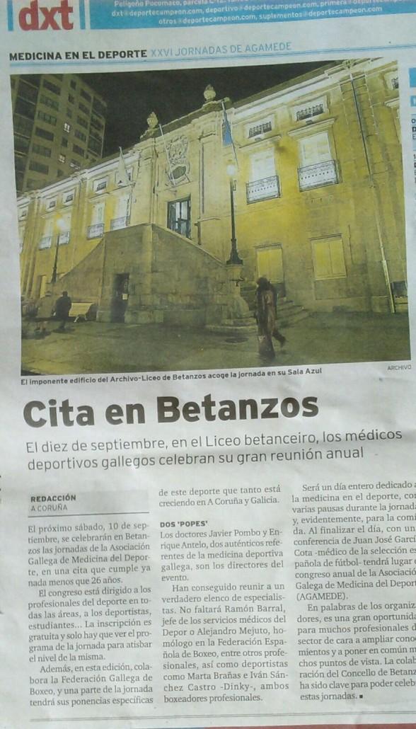 Traumatología deportiva Coruña