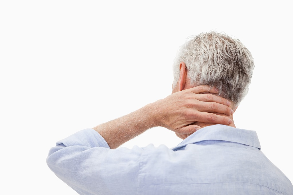 Dolor de cuello y hombros en el lado izquierdo