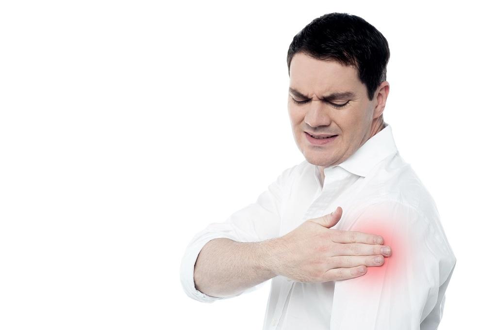 Dolor fuerte de hombro izquierdo