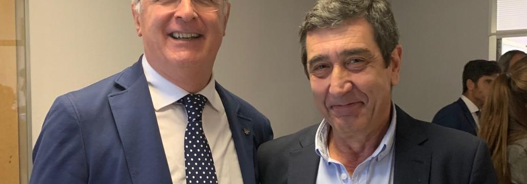 Con el Dr Rafael Viña
