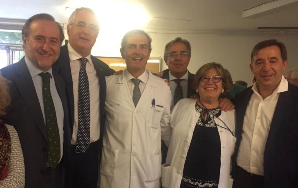 Con los dres Martí, García-Rayo y Chozas